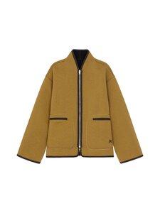 Kenzo - Reversible Jacket -kääntötakki - 164DF.92 92 - DOUBLE FACE PILE - TAUPE | Stockmann