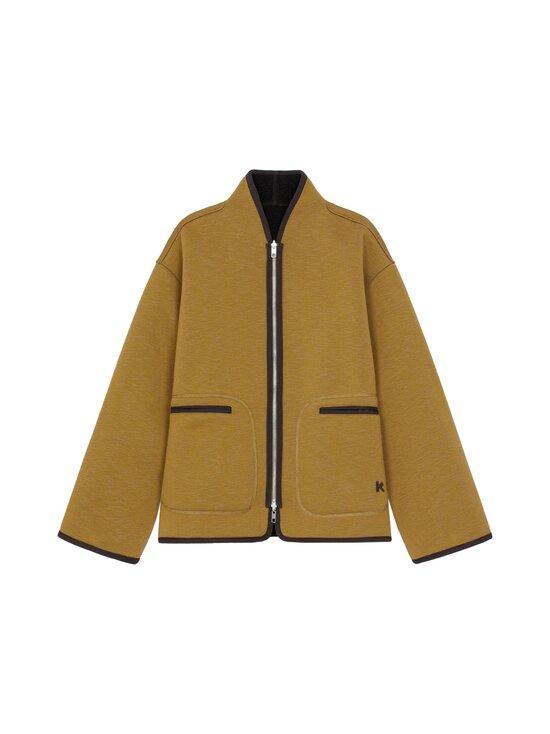 Kenzo - Reversible Jacket -kääntötakki - 164DF.92 92 - DOUBLE FACE PILE - TAUPE   Stockmann - photo 1