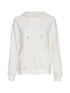 Moss Copenhagen - Ima Logo Hood Sweatshirt -collegepaita - EGRET/EGRET EGRET/EGRET | Stockmann