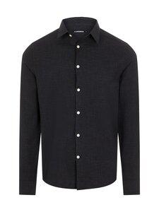 J.Lindeberg - Graph Check Regular Fit Shirt -kauluspaita - 9999 BLACK | Stockmann