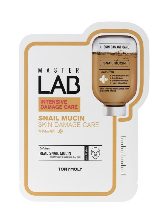 TONYMOLY - Master Lab Sheet Mask Snail Mucin -kasvonaamio - NOCOL   Stockmann - photo 1