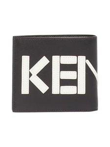 Kenzo - Kontrast Fold -nahkalompakko - 99BLACK | Stockmann