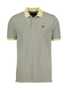 Lyle & Scott - Yarn Mix Polo Shirt -pikeepaita - W431 LEMON/ WHITE | Stockmann