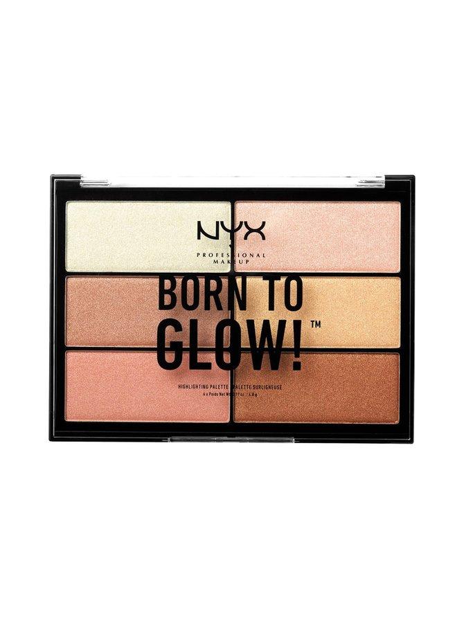 Born To Glow Highlighting palette -korostusväripaletti