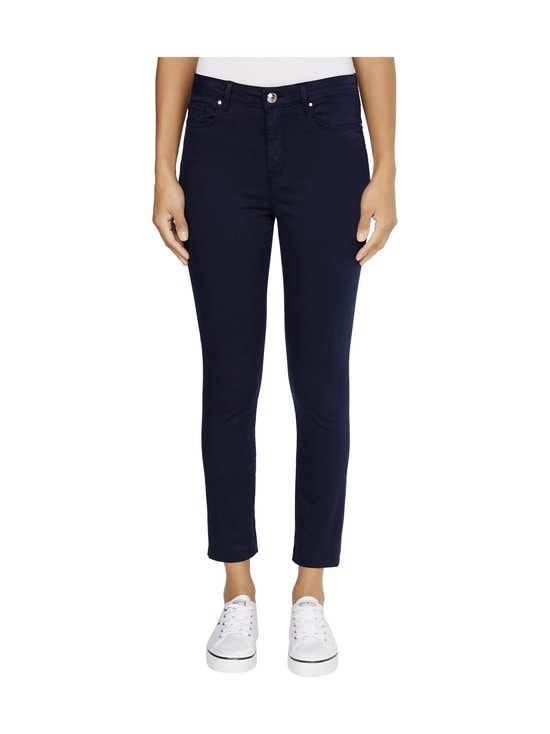 Tommy Hilfiger - Skinny Stretch Cotton Garment Dyed Trousers -housut - DW5 DESERT SKY | Stockmann - photo 3