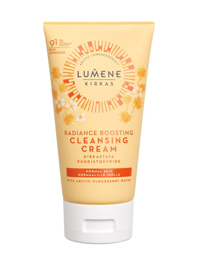 KIRKAS Radiance Boosting Cleansing Cream -puhdistusvoide 150 ml