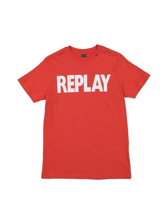 Replay & Sons - T-paita - 559 GERANIUM RED | Stockmann - photo 1