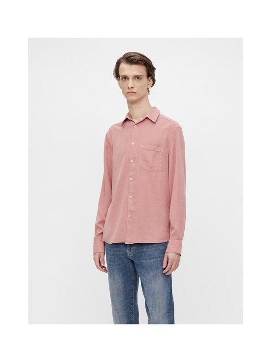 J.Lindeberg - Comfort Tencel Slim Shirt -kauluspaita - G020 ROSE COPPAR   Stockmann - photo 3