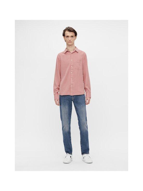 J.Lindeberg - Comfort Tencel Slim Shirt -kauluspaita - G020 ROSE COPPAR   Stockmann - photo 4