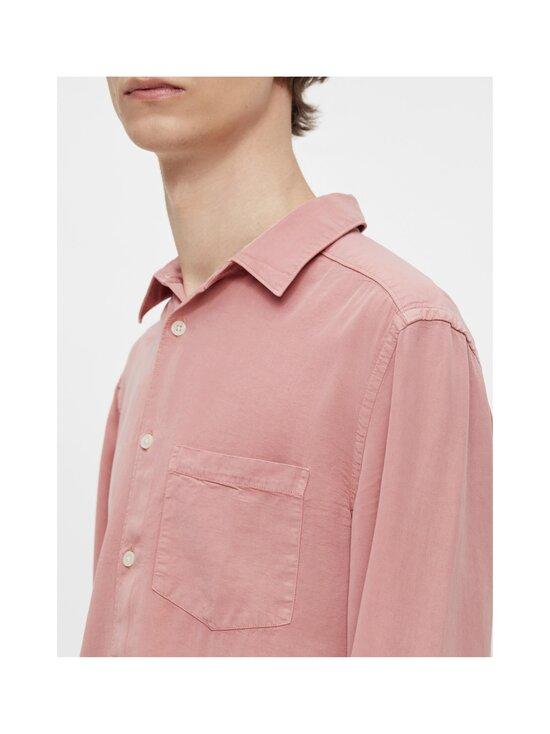 J.Lindeberg - Comfort Tencel Slim Shirt -kauluspaita - G020 ROSE COPPAR   Stockmann - photo 6