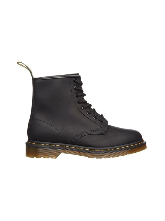 Dr. Martens - 1460 Greasy -saappaat - BLACK (MUSTA) | Stockmann - photo 1
