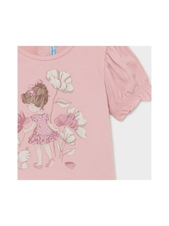 Mayoral - Small Girl Print With Flowers -t-paita - 45 PINK | Stockmann - photo 3