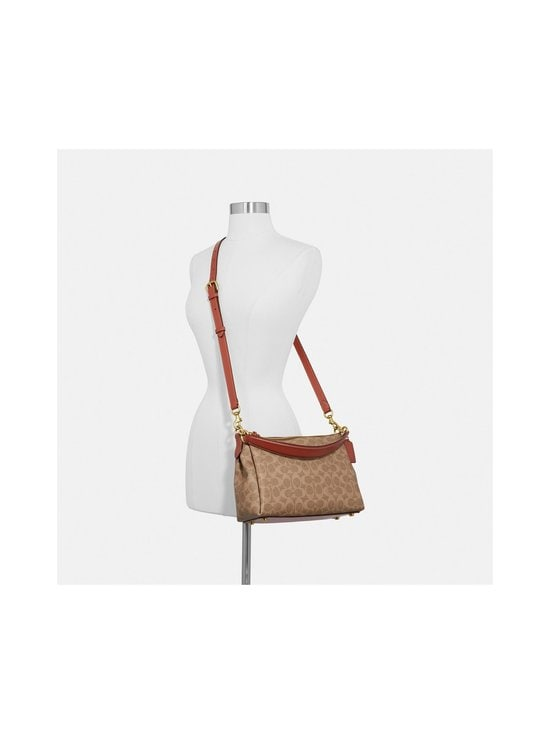 Coach - Shay Crossbody in Signature Canvas -laukku - B4/TAN RUST | Stockmann - photo 5