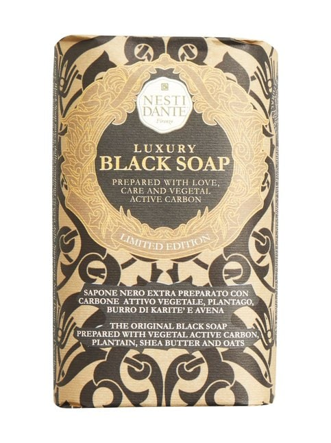 Luxury Black Soap -palasaippua 250 g