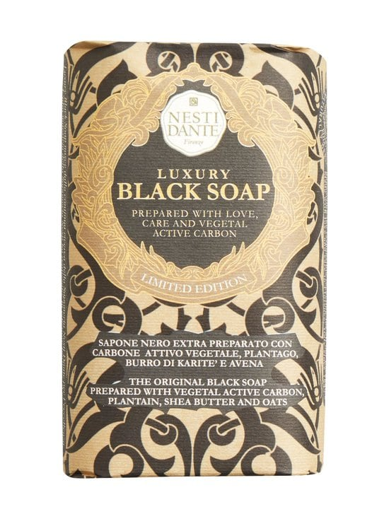 Nesti Dante - Luxury Black Soap -palasaippua 250 g - MUSTA | Stockmann - photo 1