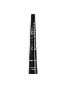 Korres - Black Volcanic Minerals Liquid Eyeliner -nestemäinen silmänrajauskynä   Stockmann