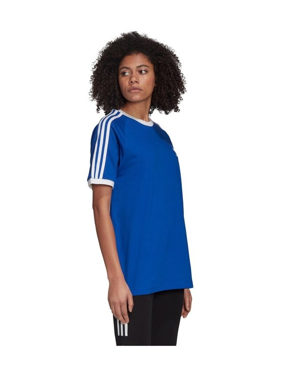 adidas Originals - 3 Stripe Tee -paita - TEAM ROYAL BLUE | Stockmann - photo 8