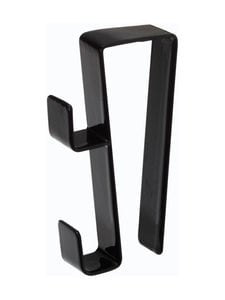 Yamazaki - Tower Under Sink Hook -koukku 2 kpl - BLACK | Stockmann
