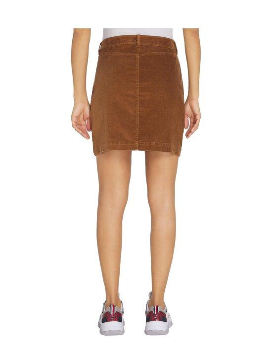 Tommy Hilfiger - Corduroy Mini Skirt -hame - GWP HIGHLAND KHAKI   Stockmann - photo 2
