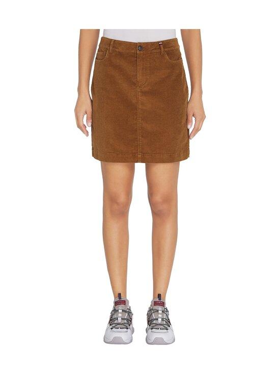 Tommy Hilfiger - Corduroy Mini Skirt -hame - GWP HIGHLAND KHAKI   Stockmann - photo 3