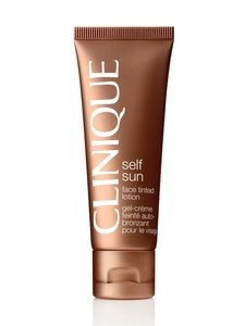 Clinique - Self Sun Face Tinted Lotion -itseruskettava geelivoide 50 ml - null | Stockmann