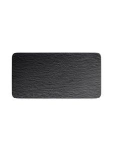 Villeroy & Boch - Manufacture Rock -tarjoilulautanen 35 x 18 x 1 cm - BLACK | Stockmann