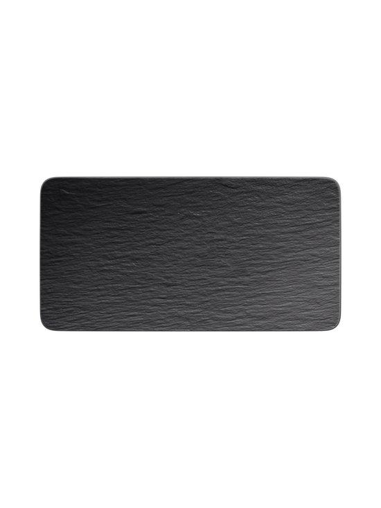 Villeroy & Boch - Manufacture Rock -tarjoilulautanen 35 x 18 x 1 cm - BLACK | Stockmann - photo 1