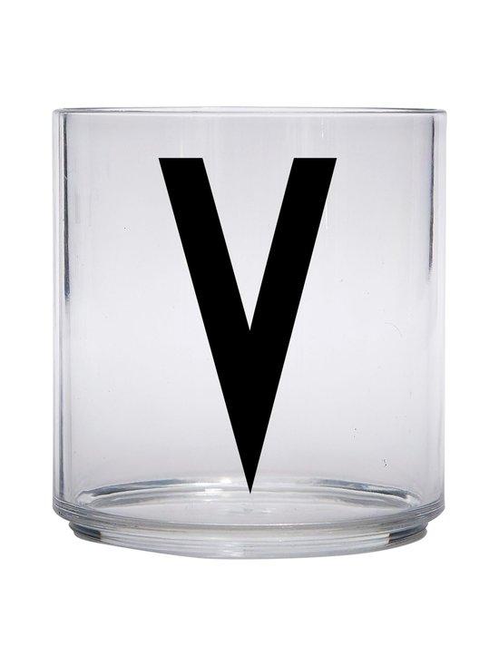 Design Letters - Kids Personal Drinking Glass -juomalasi, V - KIRKAS   Stockmann - photo 1