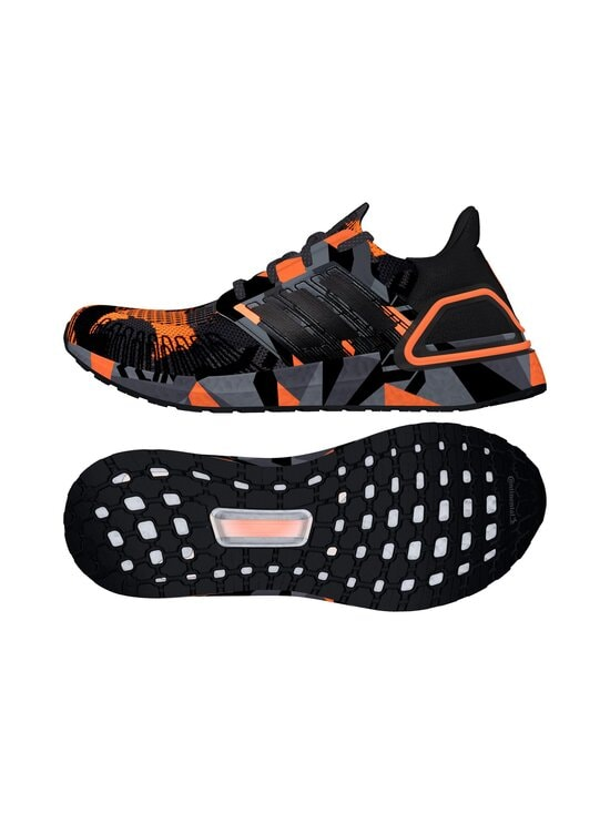 adidas Performance - M Ultraboost 20 -juoksukengät - CBLACK/CBLACK/SIGORG CORE BLACK/CORE BLACK/SIGNAL ORANGE | Stockmann - photo 9
