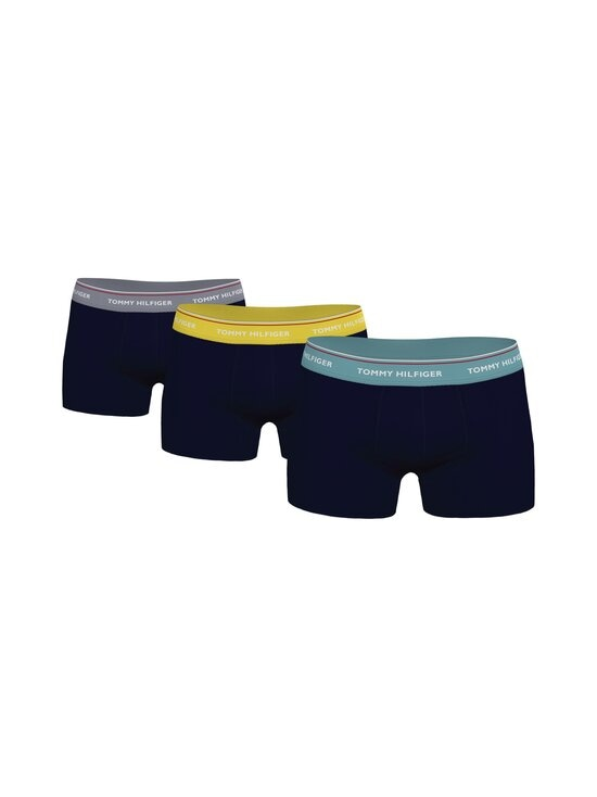 Tommy Hilfiger - Bokserit 3-Pack - 0TS TH YELLOW/SUBLUNAR/TID TEAL   Stockmann - photo 1