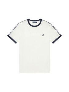 Fred Perry - Taped Ringer T-Shirt -paita - B34 SNOW WHITE | Stockmann