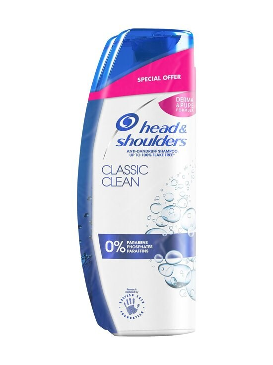Head&Shoulders - Classic Clean Shampoo -tuplapakkaus 2 x 280 ml - NOCOL | Stockmann - photo 1