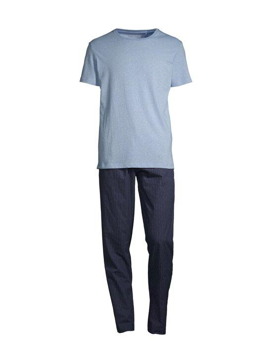 CONSTRUE - Okinawa-pyjama - LT. BLUE/ DK. BLUE PATTERN | Stockmann - photo 1