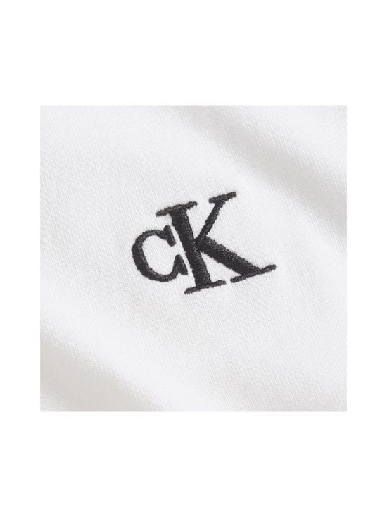 Calvin Klein Jeans - Embroidery Slim Tee -paita - YAF BRIGHT WHITE | Stockmann - photo 5