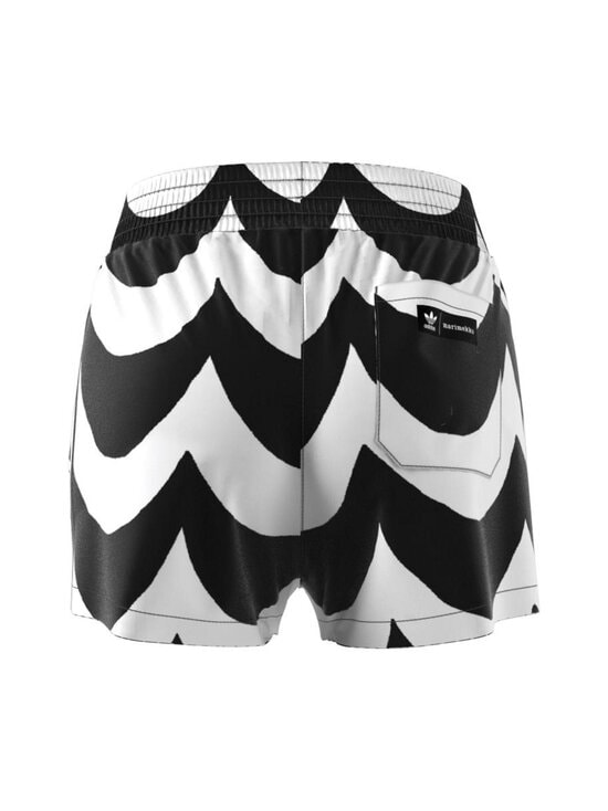 adidas x Marimekko - Short -shortsit - BLACK/WHITE BLACK/WHITE | Stockmann - photo 2