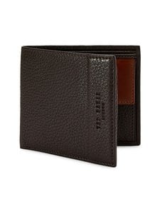 Ted Baker London - Carabas Leather Bifold -nahkalompakko - 22 XCHOCOLATE | Stockmann