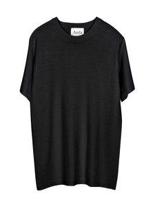 ARELA - Mathis Merino T-Shirt -paita - BLACK | Stockmann