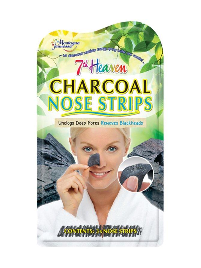 7th Heaven Charcoal Nose Strips -syväpuhdistava nenälappu 3 kpl