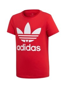 adidas Originals - Trefoil Tee -paita - SCARLET RED | Stockmann