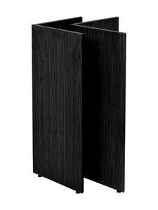 Ferm Living - Mingle W48 -pöydänjalat - BLACK VENEER | Stockmann