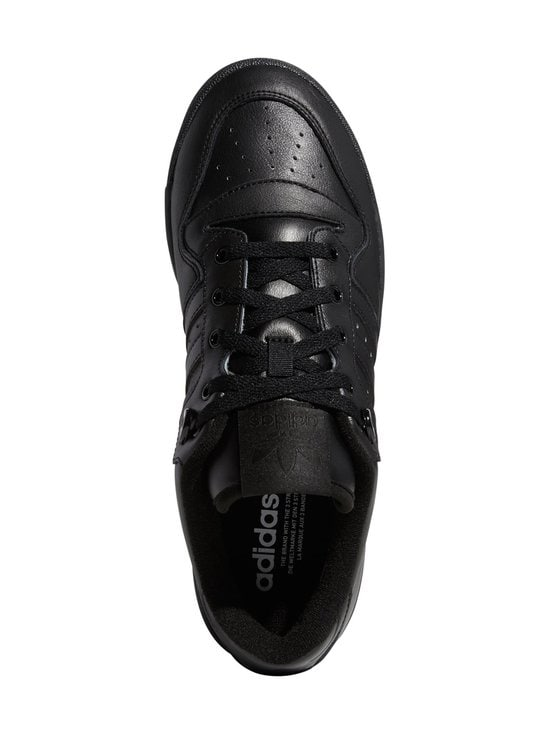 adidas Originals - Rivalry Low -nahkatennarit - CBLACK/CBLACK/FTWWHT | Stockmann - photo 3