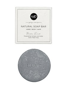 LUIN LIVING - Natural Nordic Forest -palasaippua, Pearl Grey 80 g - PEARL GREY | Stockmann