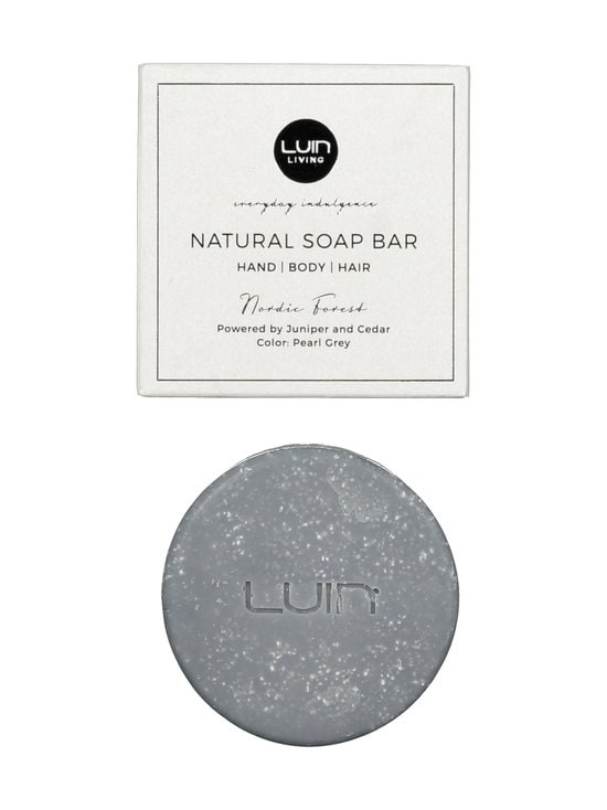 LUIN LIVING - Natural Nordic Forest -palasaippua, Pearl Grey 80 g - PEARL GREY | Stockmann - photo 1
