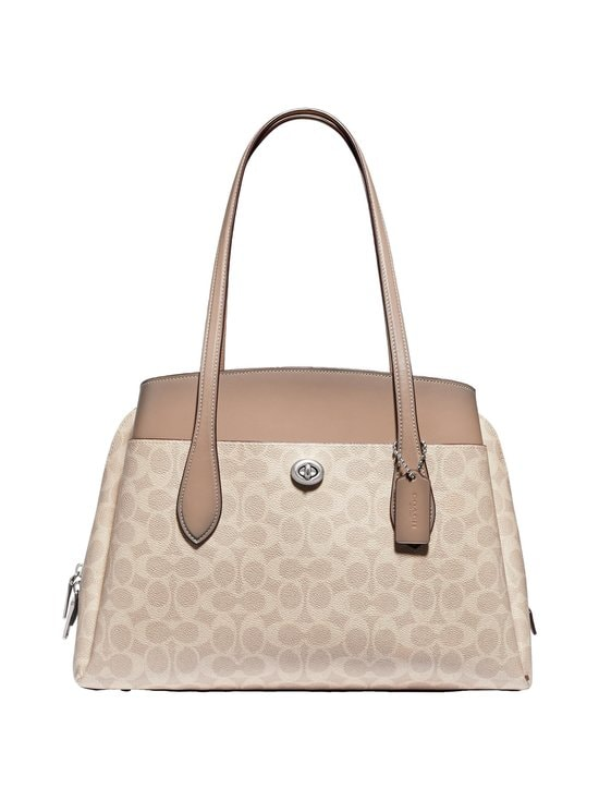 Coach - Lora Carryall In Signature Canvas -laukku - LH/SAND TAUPE | Stockmann - photo 1