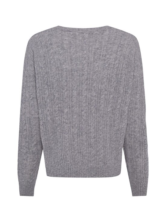 Tommy Hilfiger - Softwool Cable C-NK -villaneule - PKH LIGHT GREY HEATHER | Stockmann - photo 2