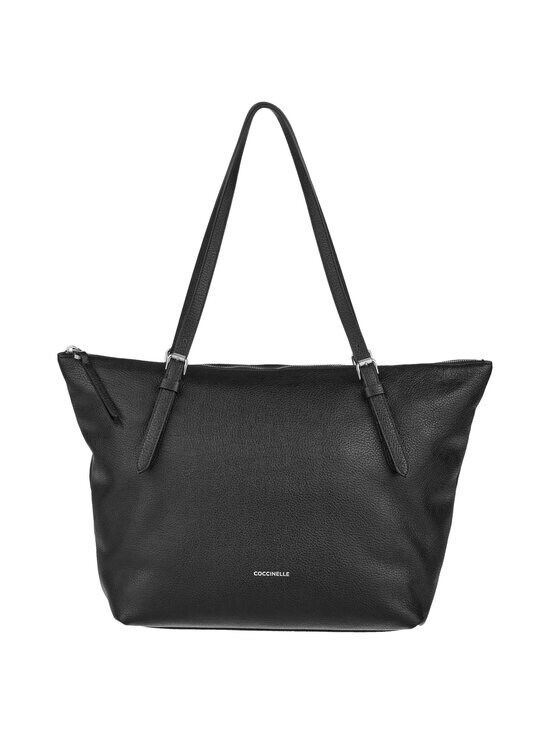 Coccinelle - Alix Shopper -nahkalaukku - 001 NOIR | Stockmann - photo 1