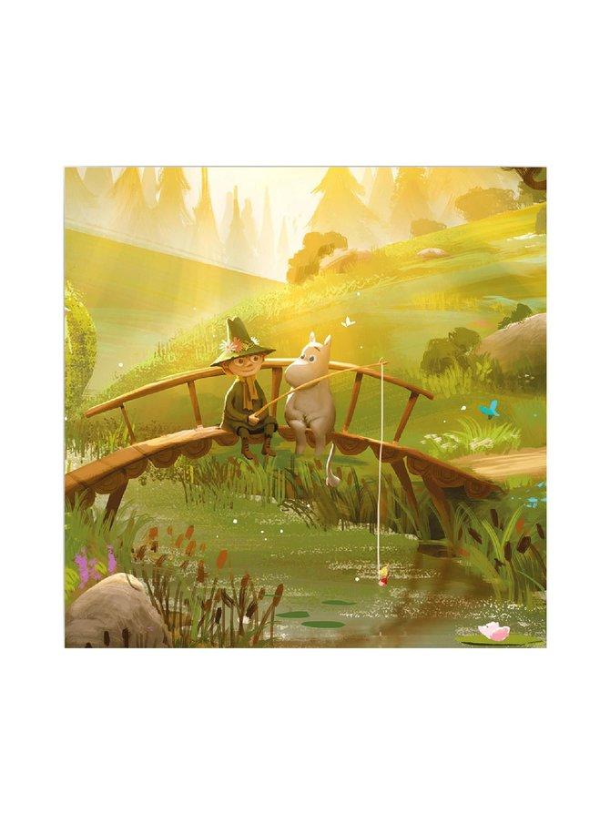 Moominvalley Moomin & Snufkin -lasinalunen 6 kpl