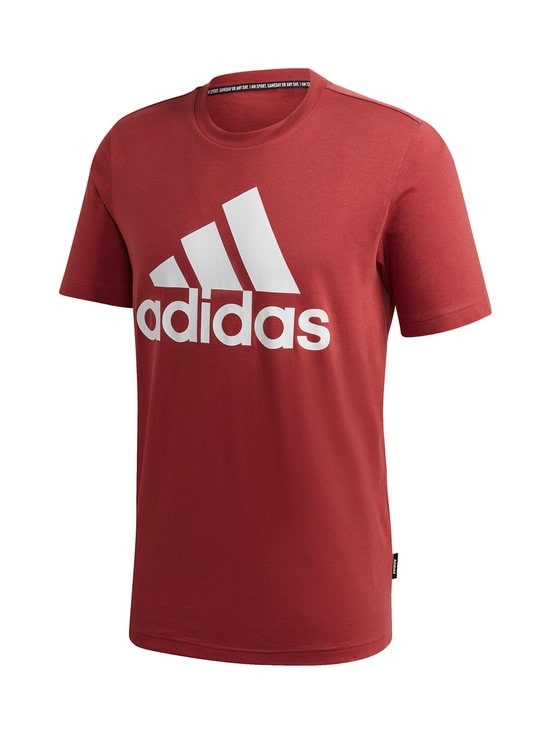 adidas Performance - Must Haves Badge of Sport Tee -paita - LEGACY RED   Stockmann - photo 1