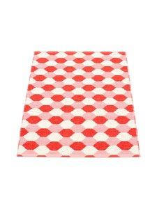 Pappelina - Dana-muovimatto 70 x 100 cm - CORAL RED/PIGLET (KORALLI)   Stockmann