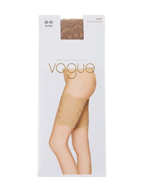 Vogue - Lace Thigh Band -reisisuojat - 9227 SUNTAN | Stockmann - photo 1